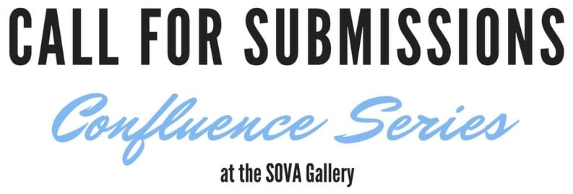 Confluence Call for Submissions- Deadline April 23