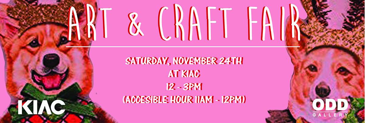 Art & Craft Fair This Weekend!