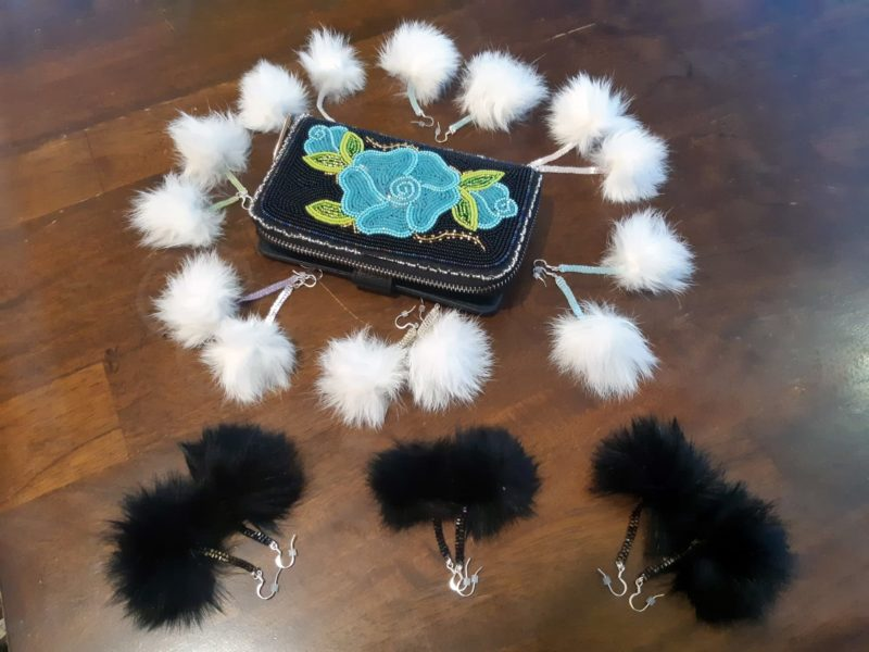 Rabbit Pom Poms by Sharon Vittrekwa