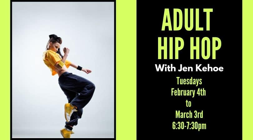 Adult Hip Hop with Jen Kehoe